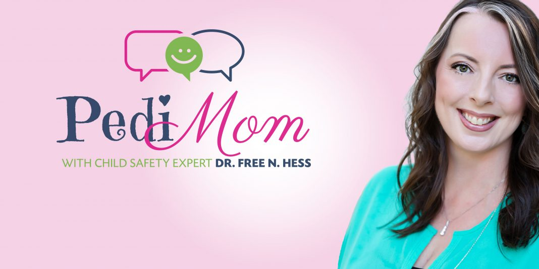 PediMom podcast show header